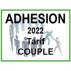 Adhésion 2022 Tarif Couple