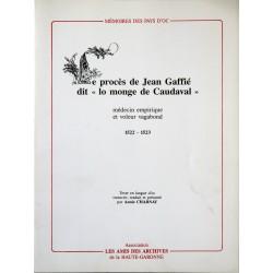 Le procès de Jean Gaffié...