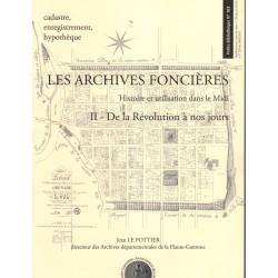 Les archives foncières tome 2