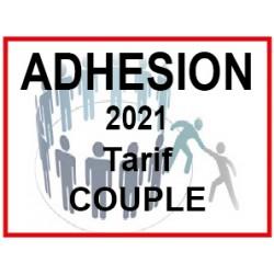 Adhésion 2021 Tarif Couple